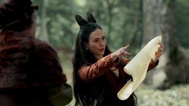 Lucrécia insiste em ir para o convento - Ela descobre que está perdida no meio da floresta