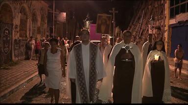 Procissão do Encerro será realizada hoje à noite - Fiéis vão percorrer várias ruas do Centro da capital.