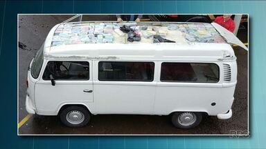 Operação contra o tráfico internacional de drogas prende 6 pessoas no Paraná - Transportar drogas em fundos falsos de veículos era a especialidade da quadrilha.