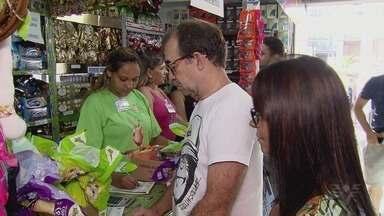Loja dos Mensageiros da Luz oferece opções para a Páscoa - Neste ano, a unidade funciona na Avenida Ana Costa, 476, no Gonzaga.
