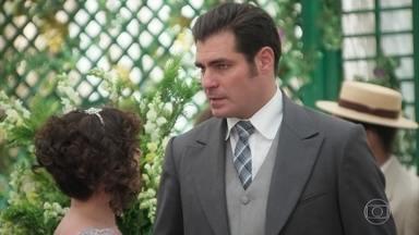 Susana diz a Darcy que conseguiu prova de que Jane é uma interesseira - Darcy e Elizabeta se desentendem, Coronel Brandão tenta se abrir com Mariana
