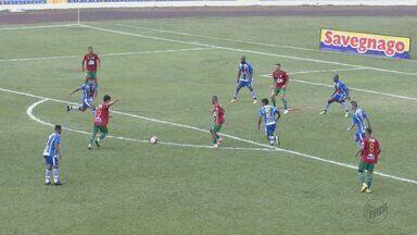São Carlos e Portuguesa Santista empatam por 2 a 2 e deixam decisão para jogo da volta - Jogando em São Carlos, equipes fizeram duelo pegado pelas quartas de final da Série A3