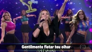 Márcia Freire canta sucesso 'Auê' no Ding Dong - Participantes erram e plateia acerta