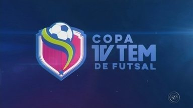 Copa TV TEM de Futsal: rodada terá cinco jogos na região de Itapetininga - A rodada desta terça-feira da Copa TV TEM de Futsal terá cinco jogos na região de Itapetininga, sendo um pela primeira fase do feminino e as outras quatro partidas válidas pelas quartas de final da categoria masculina.