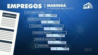 Confira as vagas de emprego para Maringá e região - A Agência do Trabalhador de Mariná tem 20 vagas para costureiras