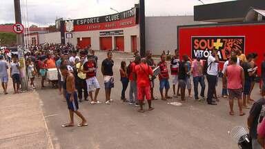 Cerca de 6 mil ingressos foram vendidos para a grande final do Baianão 2018 - A partida acontece no estádio do Barradão, em Salvador.