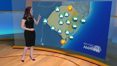 Quarta-feira (4) deve ter predomínio de tempo firme no Rio Grande do Sul - Assista ao vídeo.