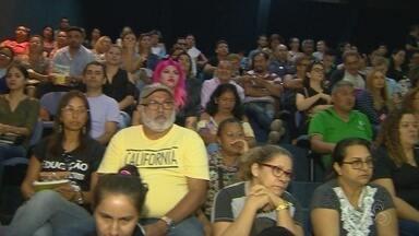 Secretário de Educação não comparece a sessão sobre greve de professores, na ALE-AM - Professores seguem em manifestação na capital.