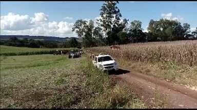 Agricultor morre após sofrer acidente de trabalho no sudoeste do Paraná - O acidente foi em São João, o agricultor caiu dentro da plataforma de uma colheitadeira enquanto tentava destravar a máquina.