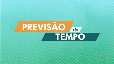 Tempo permanece aberto no Norte do Paraná - A temperatura máxima chega aos 29º em Londrina nessa quarta-feira (04).