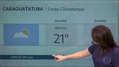 Grande São Paulo tem previsão de calor e chuva fraca - Litoral norte pode ter muita chuva nessa sexta-feira.