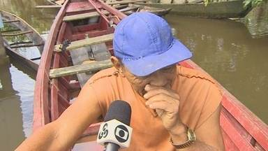 Agricultores atingidos pela cheia do rio Madeira reclamam de falta de apoio - Em Porto Velho, localidades do baixo Madeira são as mais afetadas.