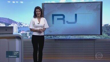 RJ1 - Íntegra 10 Abril 2018 - O telejornal, apresentado por Mariana Gross, exibe as principais notícias do Rio, com prestação de serviço e previsão do tempo.