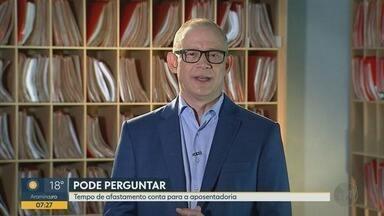 Tempo de afastamento pelo INSS pode contar na aposentadoria - Hilário Bocchi Júnior explica que a somatória do período pode ser a saída para conseguir outro benefício.