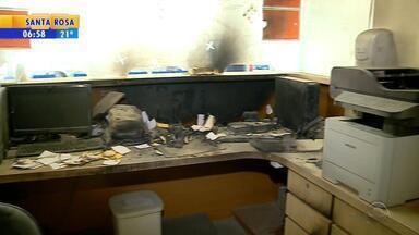 Após incêndio, recepção de hospital em Lajeado segue fechada - Orientação é procurar unidades básicas de saúde.