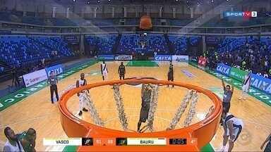 Confira os destaques do esporte no Centro-Oeste Paulista - Veja os resultados dos últimos jogos e quais são as equipes que foram selecionadas para a grande final da Copa TV TEM de Futsal. E no basquete, o time de Bauru foi para as quartas de final da NBB.