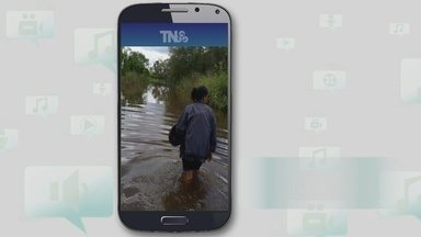 Internauta relata falta de acesso em comunidade da área rural de Porto Velho - Fotos foram enviadas pelo aplicativo Tô Na Rede