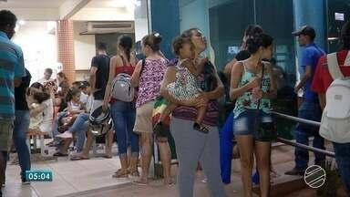 Pacientes passam horas a espera de atendimento em unidades de saúde de Campo Grande - Eles reclamaram da espera e pedem melhorias. Unidades de Pronto Atendimento ficaram lotadas.