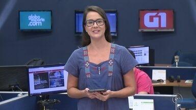Confira os destaques do G1 desta quarta-feira - Mariana Bonora traz os principais destaques do G1 Bauru e Marília desta quarta-feira (11).