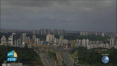 Previsão do tempo: chuva atinge bairros da capital baiana - Veja a previsão do tempo para o estado.