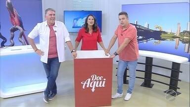 Aquece MS: Demétrius, Bruna e Cabral na disputa por doações - Os três apresentadores da TV Morena falam sobre a campanha. Cada um deles dá nome a um time.