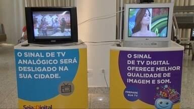 Kits de conversores digitais serão entregues para famílias de baixa renda em MS - O sinal analógico será desligado em algumas cidades, incluindo Campo Grande, neste ano.