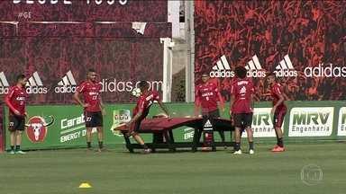 Flamengo volta todas as atenções para a estreia do Campeonato Brasileiro - Flamengo volta todas as atenções para a estreia do Campeonato Brasileiro.