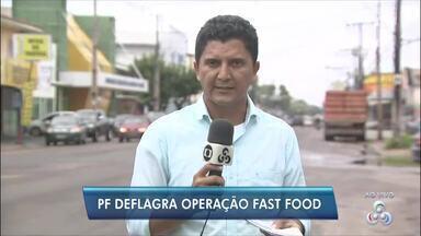 PF faz operação que apura pagamento de propina para servidores da ANM no Amapá - Operação 'Fast Food' cumpriu dois mandados de busca e apreensão na manhã desta quinta-feira (12).