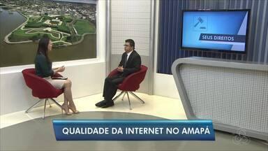 Quadro 'Seus direitos': Anatel tira dúvidas sobre os serviços de internet no Amapá - Gerente da Agência Nacional de Telecomunicações no estado, Edward Aires, foi o entrevistado.