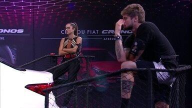 Paula afirma: 'Ainda acho que deve ter Líder' - Brothers conversam durante a Prova Giro Maluco Fiat