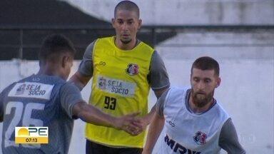 Santa Cruz e Náutico se preparam para clássico de estreia na Série C do Brasileirão - Sport viaja para Minas Gerais para fazer a primeira partida pela Série A