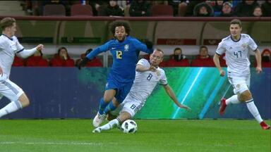Rússia 0 x 3 Brasil - Amistoso