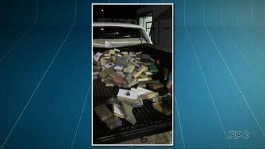Policiais apreendem quase 300 quilos de cocaína em Paiçandu - A droga estava escondida em um caminhão