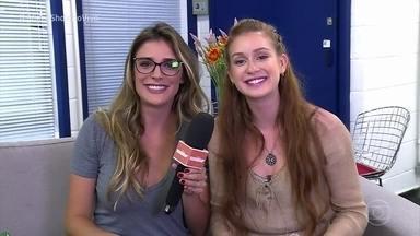 Marina Ruy Barbosa revê matérias antigas do 'Vídeo Show' - Inspirado pelo caderno de memórias que a atriz faz para cada personagem, o programa mostra várias participações dela na telinha em diversos momentos