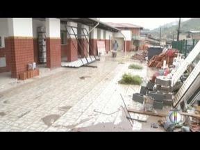 Obras na Escola Dom Lelis Lara seguem atrasadas em Coronel Fabriciano - Alunos precisam estudar em prédio improvisado.