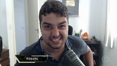 Monark hackeia o Zero1 - Ele faz gameplay de PixARK