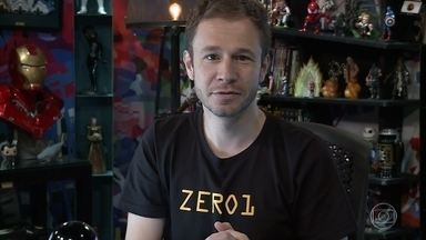 Zero 1 - Programa de 14/04/2018, na íntegra - Tiago Leifert joga Sword Legacy: Omen, um jogo cuja narrativa foi criada pelo Arthur Protásio. Zero1 faz unboxing do Coringa e fala sobre cospobres. Monark hackeia o Zero1 e faz gameplay de PixARK