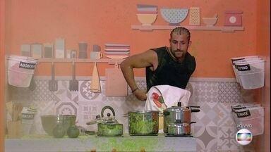 Prova do Líder Cozinha Explosiva: Kaysar é eliminado - Prova do Líder Cozinha Explosiva: Kaysar é eliminado