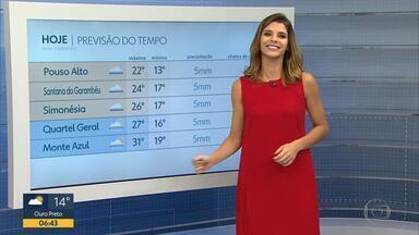 Meteorologia diz que Minas Gerais tem tempo instável - Por causa do friozinho, é bom sair de casa sempre levando um casaquinho.
