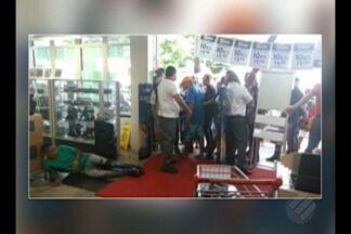 Homem morre após ser baleado em loja de departamento no bairro de São Brás, em Belém - Homem morre após ser baleado em loja de departamento no bairro de São Brás, em Belém