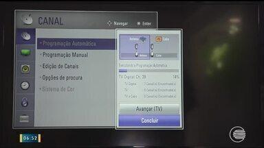 Saiba como fazer para configurar sua Televisão para receber o sinal digital - Saiba como fazer para configurar sua Televisão para receber o sinal digital