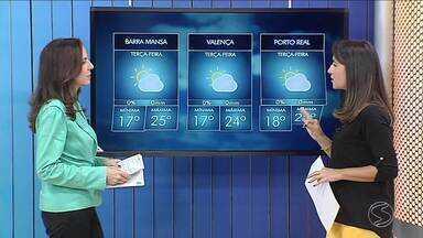 Terça-feira será de sol entre nuvens no Sul do Rio de Janeiro - Céu fica mais encoberto na Costa Verde. Confira mais detalhes na Previsão do Tempo.