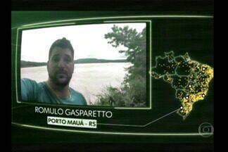 Vídeos de moradores da Região no Brasil Que Eu Quero - Campina das Missões e Porto Mauá foram destaques nos telejornais.