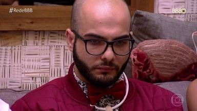 Diego segue firme com suas estratégias e Mahmoud acaba sendo eliminado - Grupo dos sete começa a sofrer baixas. O jogo tem uma virada com presente do público para Gleici