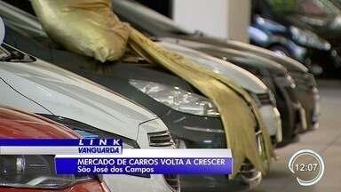 Mercado automotivo está aquecido na região - Aumento no primeiro trimestre foi de 15%.