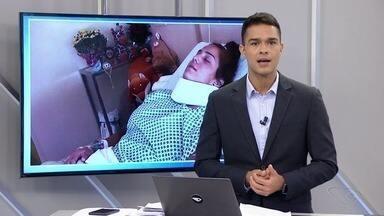 Judoca capixaba sofre lesão grave na coluna durante luta no campeonato brasileiro regional - Ela passou por uma cirurgia e passa bem.