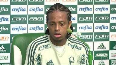 Keno nega má fase no Palmeiras - Keno nega má fase no Palmeiras