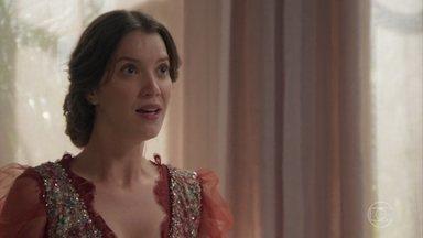 Elisabeta não aceita ser culpada pelas desventuras por quais passou - Darcy teme o preço que a moça tenha a pagar pelo otimismo e espontaneidade e Elisabeta percebe que o namorado está com ciúmes de Olegário