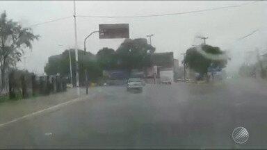 Previsão: tempo chuvoso deve continuar durante o fim de semana na capital baiana - Confira também como vão ficar as temperaturas em Salvador.