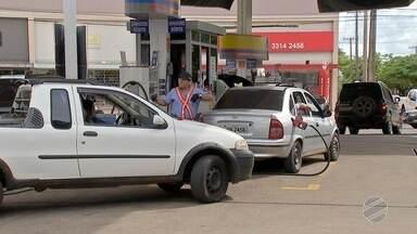 Falta de gasolina em postos de combustíveis gera preocupação em Campo Grande - Segundo o sindicato da categoria, os empresários estão sem dinheiro para comprarem combustíveis desde que a Petrobrás passou a reajustar diariamente os preços.